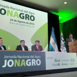 Dardo Chiesa inauguró JONAGRO.